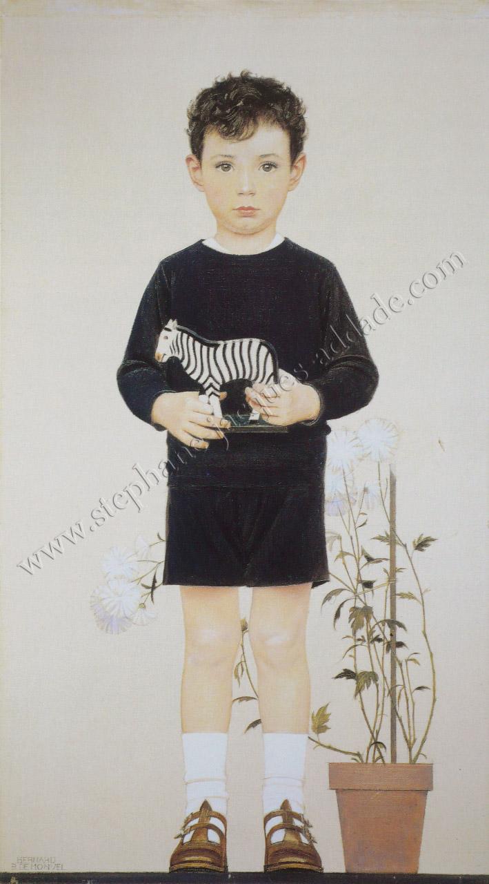 Bernard Boutet de Monvel Master Arturo Ramos 1931 Autoportrait devant la place Vendôme 1932