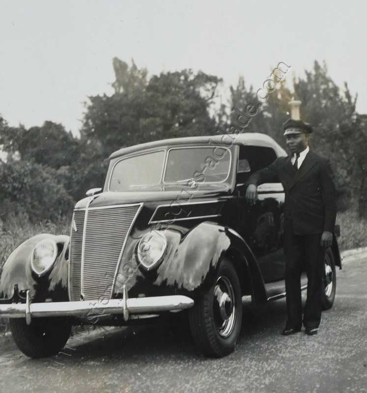 Anonyme - Ruby «as a driver» 1937
